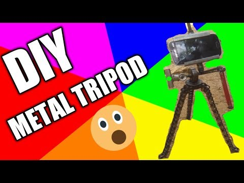 DIY METAL TRIPOD gawang pinoy