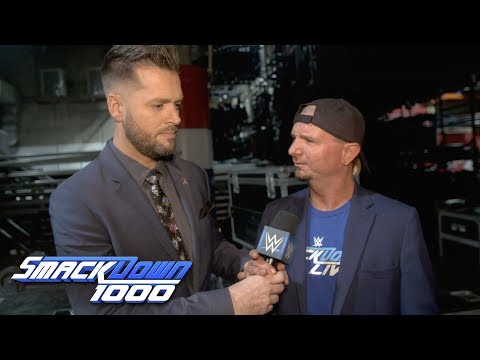 Why wasn't James Ellsworth on SmackDown 1000?: SmackDown 1000 Exclusive, Oct 16, 2018