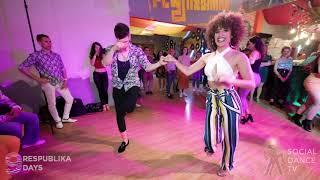 Samuel & Veronica - Salsa Social Dancing   Respublika days 2019
