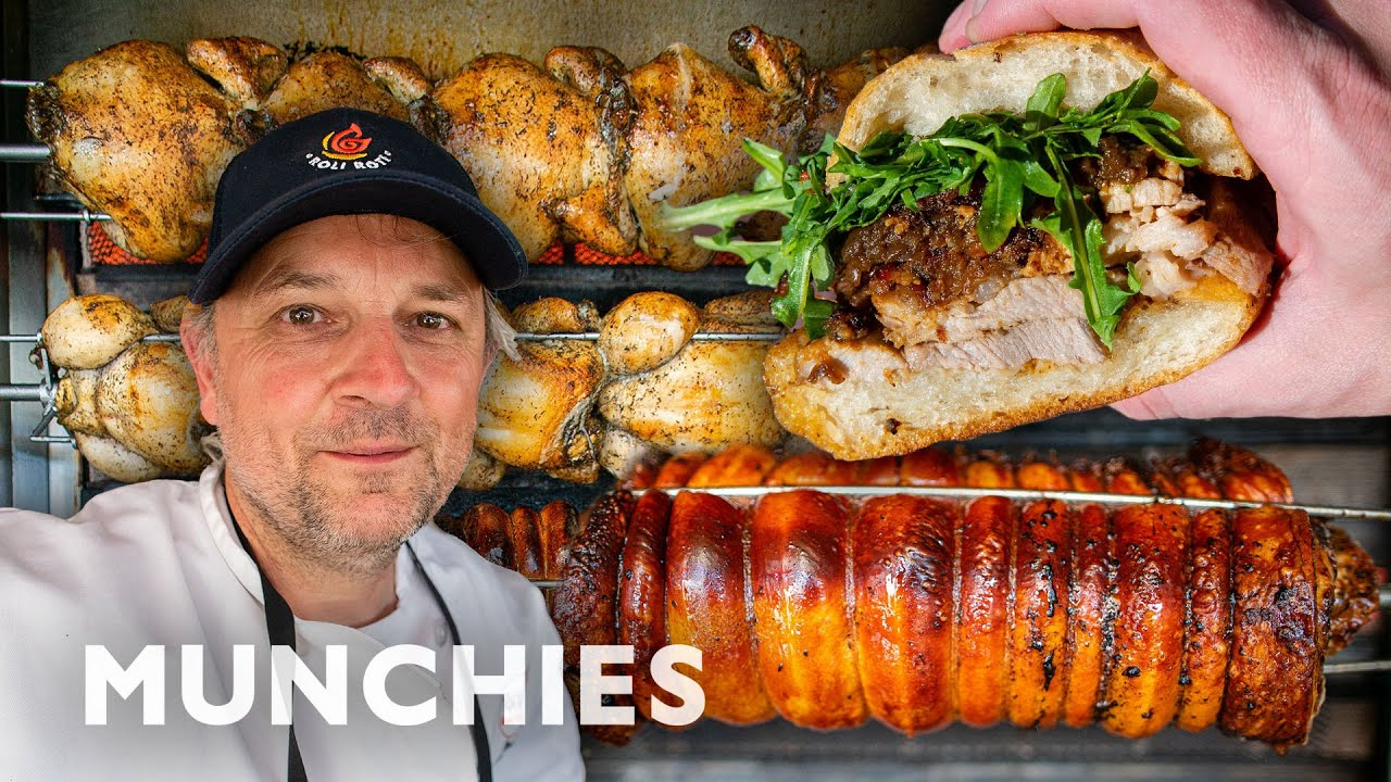 Download The Rotisserie King of San Francisco | Street Food Icons