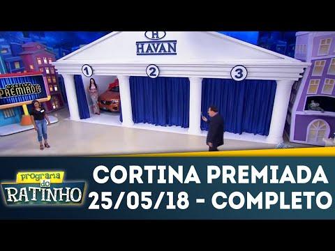 Cortina Premiada - Completo | Programa Do Ratinho (25/05/18)