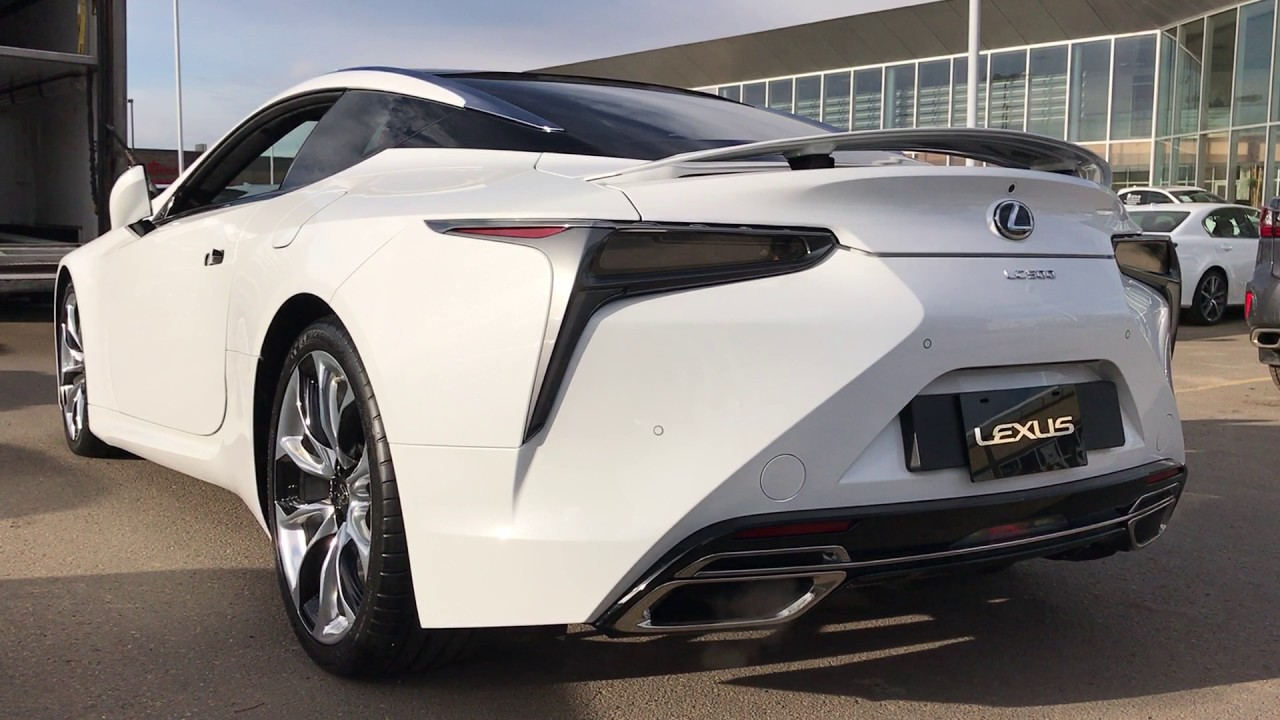 Lexus Lc 500 Exhaust Sound Revving And Start Up Youtube