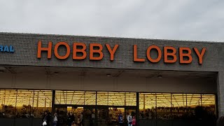 Gigantic Hobby Lobby Haul. 75% clearance. Must Watch!