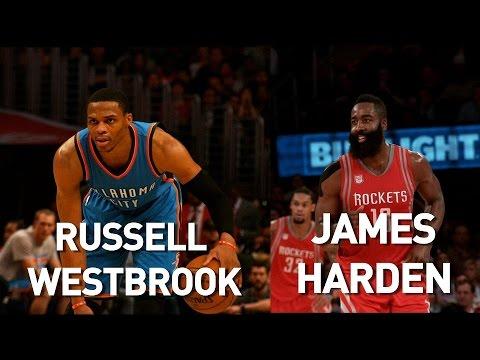 Warriors vs. Rockets features James Harden vs. Andrew Wiggins