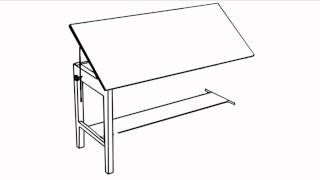 Versa Tables: Vision Drafting Table