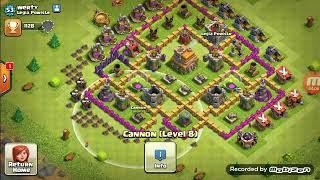 Clash of Clans#1 wioski moich widzów.