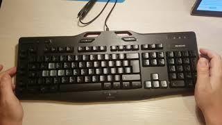 logitech G105 GAMING KEYBOARD Распаковка и обзор игровой клавиатуры (2160р 4К)