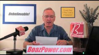 #70 A Stroke of Genius - Boaz Power TV