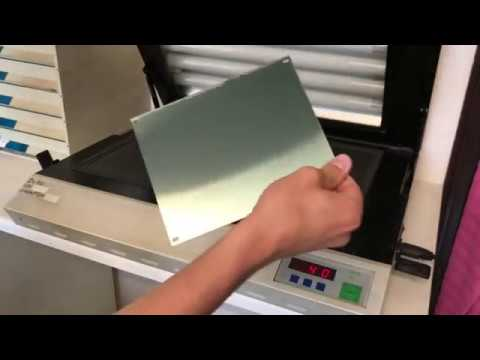 TTN - How to make steel etching pad printing plates (clichés) for pad  printing machines