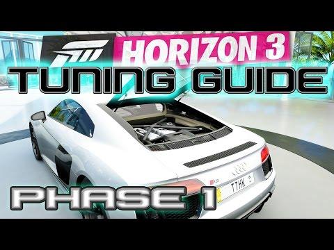 Forza Horizon 3 | Audi R8 Phase 1 Tuning