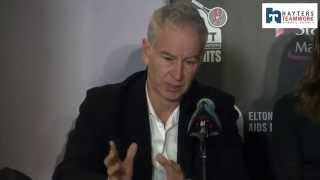 Tennis legend John McEnroe says he would consider a part-time coaching role