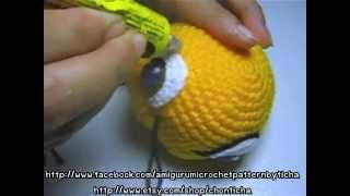 How To Attach Eye In Place - Simba Amigurumi