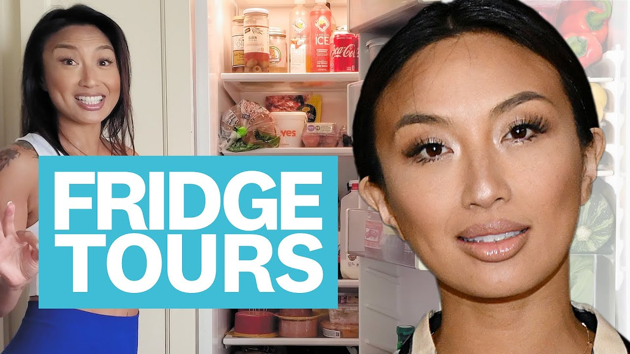 What 'DWTS' Contestant Jeannie Mai REALLY Eats After Rehearsal | Fridge Tours | Women's Health