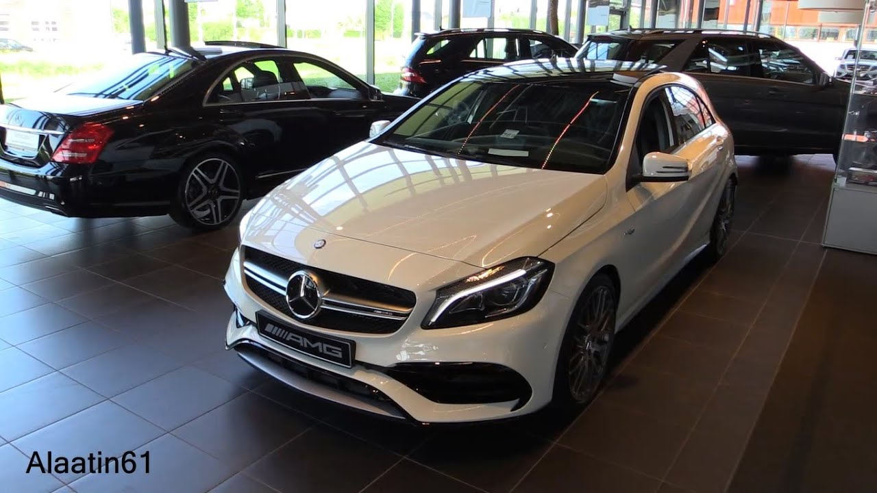 mercedes amg a45 2017 test drive in depth review interior exterior youtube. Black Bedroom Furniture Sets. Home Design Ideas