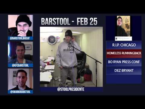 Barstool Rundown February 25