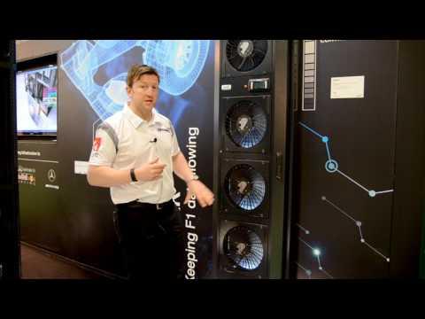 Data Centre World 2017 - OnRak™ rear door heat exchanger