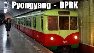 PYONGYANG METRO - Die U-Bahn in Pyongyang (23.04.2014)