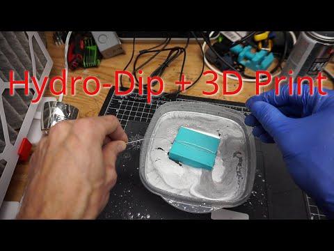 Hydro Dip PLA 3D Prints - Will It Work?