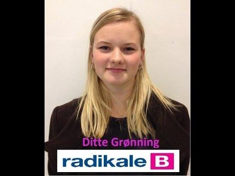 Valgvideo - Ditte Grønning, Radikale Venstre