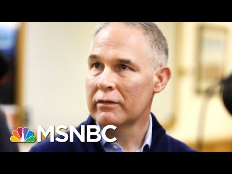 EPA Chief Resigns As President Trump Finally Surrenders To Scandal Outrage | The Last Word | MSNBC