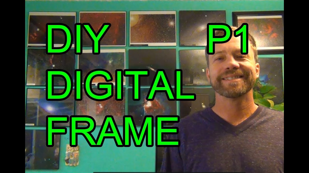 Diy raspberry pi digital picture photo frame p1 youtube solutioingenieria