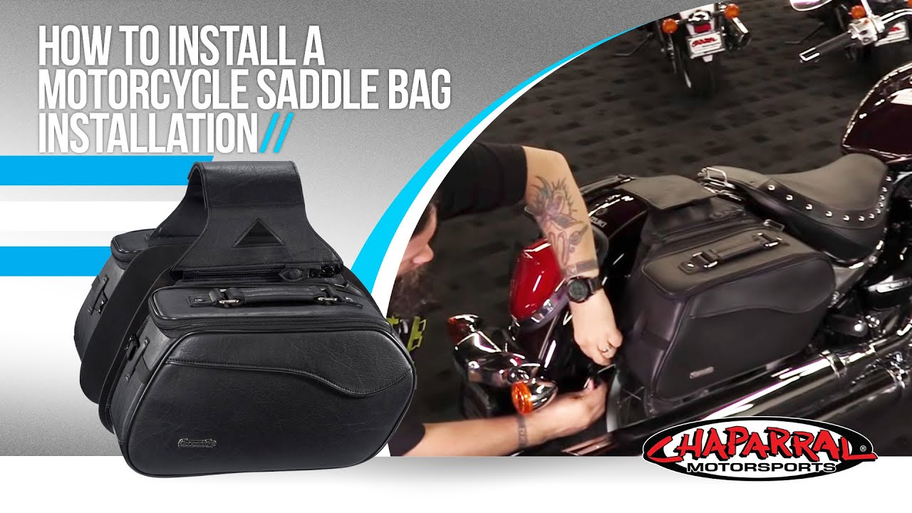 How To Install A Motorcycle Saddlebag Installation Tutorial 95 Honda Nighthawk Cb750 Wiring Schematic Chapmotocom