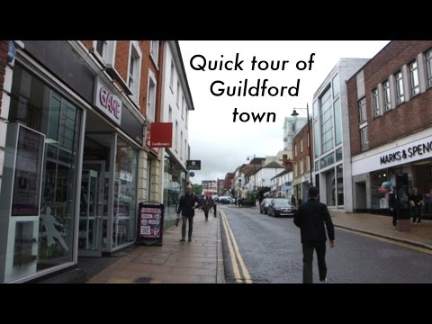 GUILDFORD TOWN CENTRE - UNIVERSITY OF SURREY
