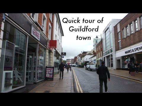 GUILDFORD TOWN CENTRE - UNIVERSITY OF SURREY