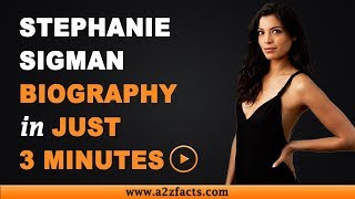 Stephanie Sigman – Age, Birthday, Biography, Husband, Net Worth and More