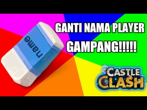 How To Change Player Name - Castle Clash