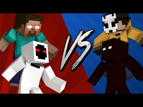 HEROBRINE & ENTITY 303 VS LICK & NULL [Animation Corto]