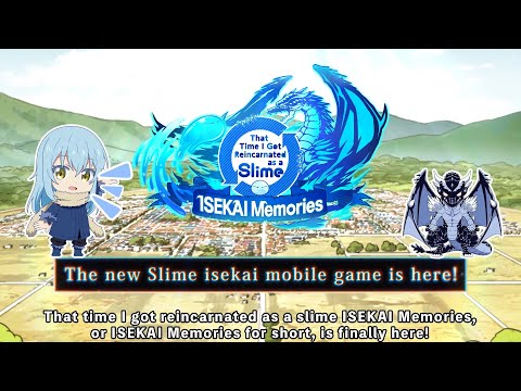 That time I got reincarnated as a slime ISEKAI Memories | Game Introduction