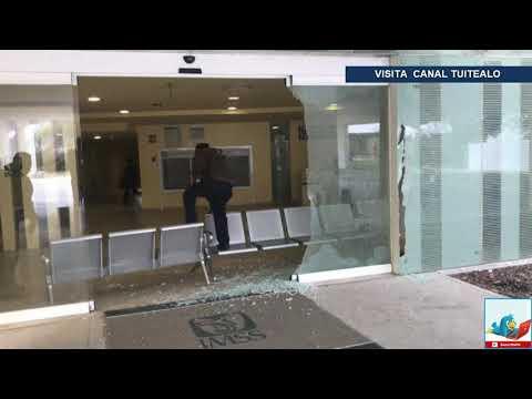 Balacera provoca pánico en hospital del IMSS en Reynosa