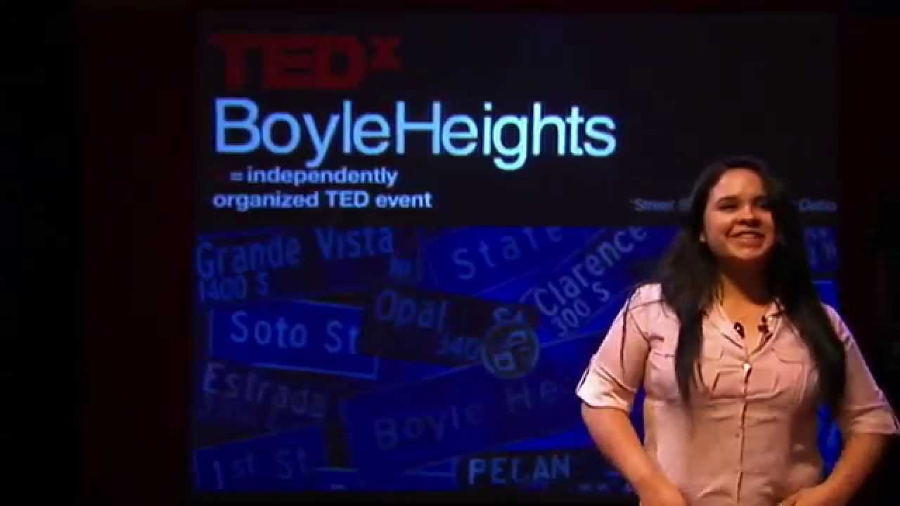 Creating yourself -- adding color to your life: Dianna Martinez at TEDxBoyleHeights 2014