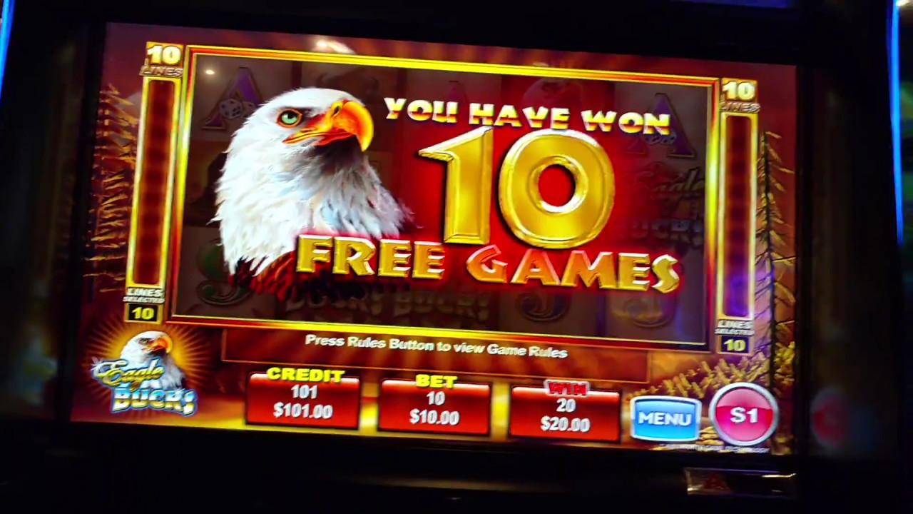 Eagle bucks slot machine online ainsworth play demo fun