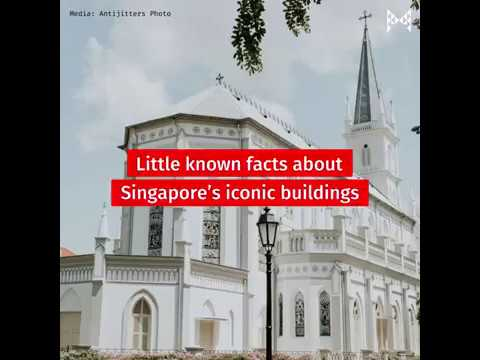 Fun facts about Singapore's architecture