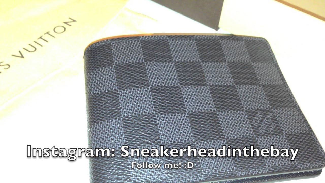 Louis Vuitton Damier Graphite Multiple Wallet Review Youtube