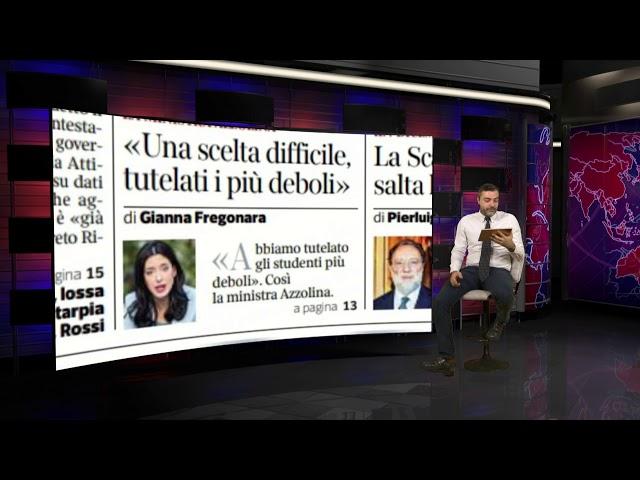 Rassegna Stampa del 5 novembre 2020 - a cura di Matteo Torrioli