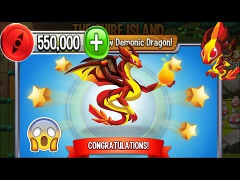 how to get demonic dragon in dragon city