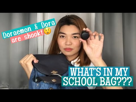 WHAT'S IN MY SCHOOL BAG???