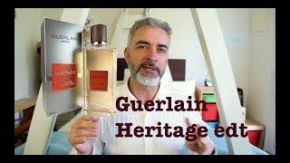Day 11: Guerlain Heritage edt