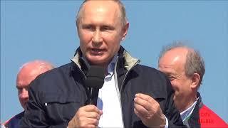 Сериал  Крымский мост  2 серия  Концерт и выступление В В Путина 15 05 18г