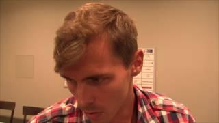 Adam Sebastian Helcelet na tiskové konferenci k TNT Express meeting Kladno