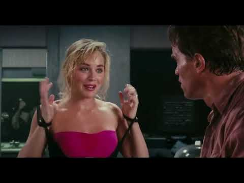 Sharon Stone Total Recall Fight