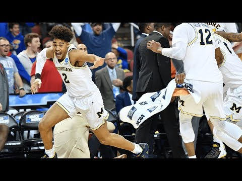 Freshman's Desperate Shot Save michigan basketball