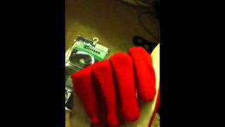 My cutters football gloves