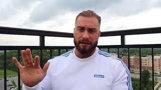 Крис Бамстед #отвечает. Тренировочный сплит на подготовке к Олимпии 2018.