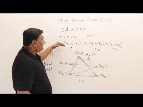 8.1 NP-Hard Graph Problem - Clique Decision Problem