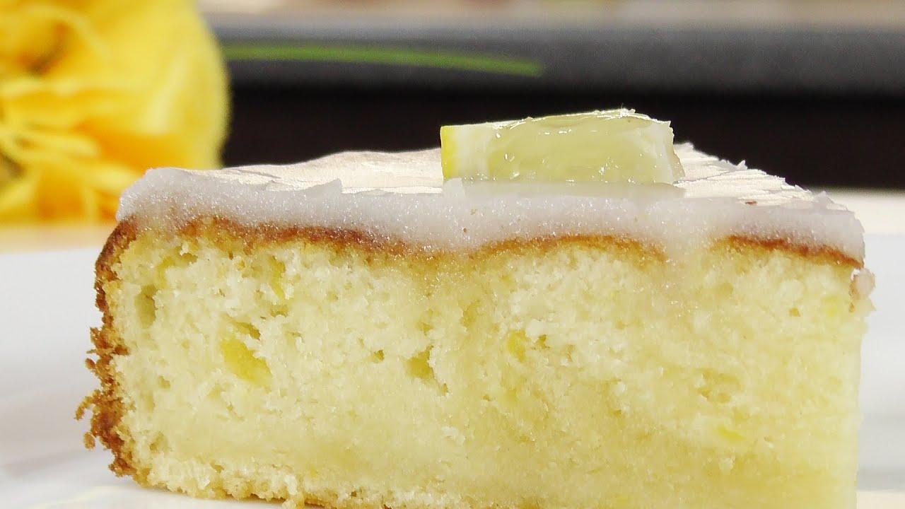 лимонный пирог или кекс рецепты с фото