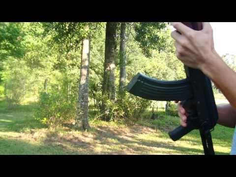 Polish AKMS AK-47 7.62x39mm